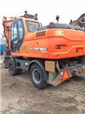 Doosan DX 190 W, 2011, Excavadoras de ruedas