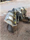 Uni-väg UV280 vikplog m ramutrustning, Snow blades and plows