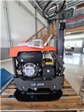 Husqvarna LG204, 2020, Placas compactadoras