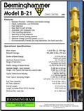 Дизель-молот Berminghammer B-21, 2008 г., 860 ч.