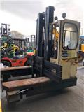 Hubtex DQ40-D, 2003, 4-way reach trucks