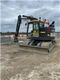 Volvo ECR 145 E, 2021, Crawler excavators