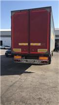 Berger Semiremorcă SAPL24 LT, 2005, Box body semi-trailers