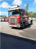 Scania R 124 GB, 1998, Vaihtolava-autot