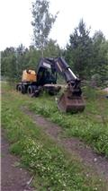 Lännen 219  M, 1989, Wheeled excavators