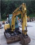 Yanmar Vio 50 U, 2009, Mini excavadoras < 7t