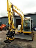 New Holland Kobelco E70SR-1, 2007, Midi excavators  7t - 12t