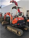 Kubota U 25-3 A، 2008، حفارات صغيرة أقل من 7 طن (حفارات صغيرة)