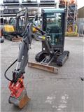 Volvo EC 18, Mini excavators < 7t (Mini diggers)