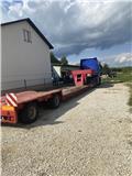 Goldhofer+ciągnik siodłowy MAN TGX 540 Tiefbett, 2013, Nyergesvontatók