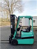Mitsubishi FB12KRT Heftruck, Elektrische heftrucks, Laden en lossen