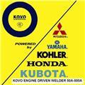 Kubota SOLDADORAS EW400DST, 2014, Generadores diésel