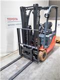 Toyota 8FBET15, 2015, Elektromos targoncák