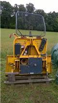 Wciągarka UNIFOREST 50 EH linowa sterowana elektro-hydraulicznie, 2010, Kita