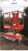 Bravi Lui S400, 2002, Henkilönostimet ja nostolaitteet
