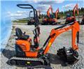 Kubota U10-3, 3 års garanti!, 2019, Mini Excavators <7t (Mini Diggers)