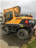 Hyundai Robex 140 W-9 A, 2015, Wheeled Excavators