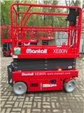 Mantall XE80N, 2018, Scissor Lifts