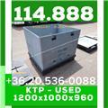 114.888 Kartonplast, műanyag összecsukható láda 11, 2017, Raktározási eszközök-egyéb