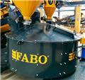 Fabo PNM 02 HIGH QUALITY PAN MIXER FOR SALE、2020、混凝土搅拌站 干混砂浆搅拌站 稳定土搅拌站