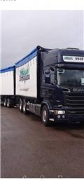 Scania R 580 6x2, Flisbilar, Transportfordon