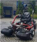 Toro Greensmaster 3400 TriFlex 3WD, 2011, Stand on klipper