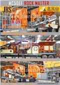 JBS 40-60tph limestone Mobile Jaw Crusher Plant, 2021, Komplett üzemek