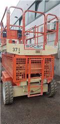 JLG 3369LE، 2007، رافعات مقصية الشكل