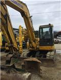 Komatsu PC88MR-6, 2007, Mini excavators  7t - 12t