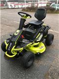 Ryobi RM480E AKKULEIKKURI、2020、乗用・自走モア/芝刈り機