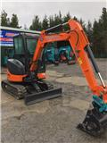 Hitachi 30U-2, 2007, Mini excavators < 7t (Mini diggers)