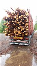 Лесовозный прицеп Jyki V 42 T0, 2006