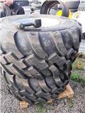 BKT kompletta hjul. 600/55-26,5 radial, Renkaat ja vanteet