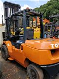 Toyota 2016 hot sale 5 tons forklift, 2016, Telescopic handlers