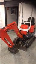 Kubota K 008-3, 2011, Mini excavators < 7t (Penggali mini)