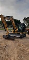 Caterpillar 308 E 2 CR, 2017, Midi excavators  7t - 12t