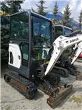 Bobcat E 17, 2015, Mini excavators < 7t (Mini diggers)