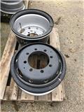 Terex TW 110, Tires, wheels and rims