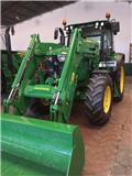 John Deere 6100 M C, 2016, Tractores