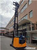 UN Forklift 1.5Ton Man-down VNA with 6000mm mast、2021、バッテリーフォークリフト