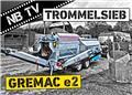 [] Gremac Trommelsiebanlage e2 Gremac Radmobil, 2021, Mobilna sita