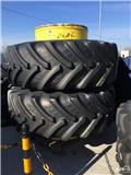 BKT Twin wheels with BKT 650/85R38 tires, 1 pair, 2008, Dual wheels