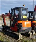 Kubota KX101-3a3, fabriksgaranti kvar, 2016, Mini Excavators <7t (Mini Diggers)