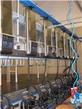 Delaval Dojírna použitá 2x12, MP700, MI15 + Tank 20.000 l, 2008, Dojírny a dojicí zařízení