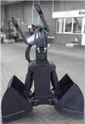 Greifer 2-Schalengreifer SG 600 mit Wechselsch, 2012, Greifer