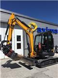 JCB 8065 RTS, 2011, Mini excavators < 7t (Mini diggers)