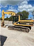 Caterpillar 322 B L, 2002, Crawler Excavators