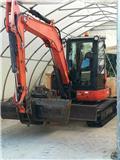 Kubota U 55-4, 2011, Mini excavators < 7t (Mini diggers)