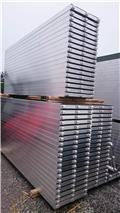 Podest stalowy,steel plank,plateforme en acier sta, 2018, Andamios