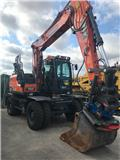 Doosan DX 140 W, 2017, Wheeled Excavators